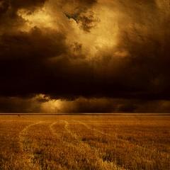 Far Away (Olli Kekäläinen) Tags: light sky color field clouds photoshop dark square nikon horizon 100v10f plus d200 2008 palabra firstquality ok6 infinestyle megashot bratanesque ollik alarecherchedutempperdu 20080426 100commentgroup beyondclick