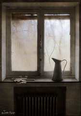 still life by the window (moggierocket) Tags: old light stilllife abandoned window bathroom nikon bravo ivy mansion melancholy abandonment leftbehind justimagine trashbit hourofthesoul kattenmeisje