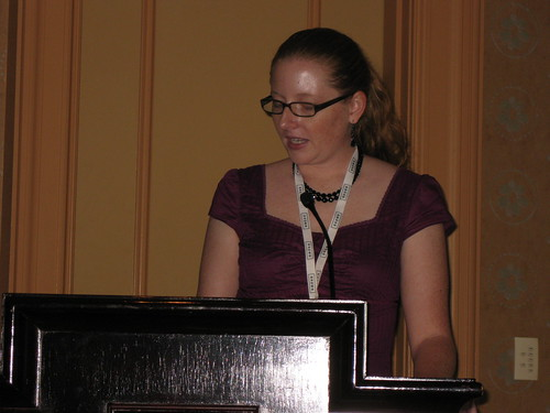 Rhea Drysdale speaking at ACCM Show 2008