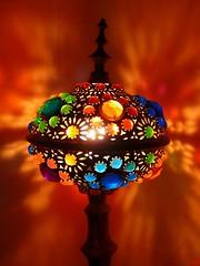 My lamp (B@rbar@ (Barbara Palmisano)) Tags: blue light orange house color verde green lamp colors casa colore blu colori luce turkish lampada arancione naturesfinest mywinners diamondclassphotographer flickrdiamond coloursplosion artedellafoto