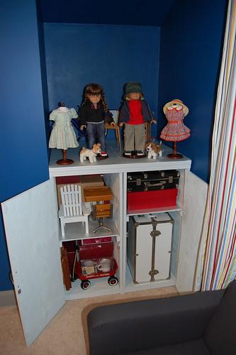 Inside of AG Cabinet