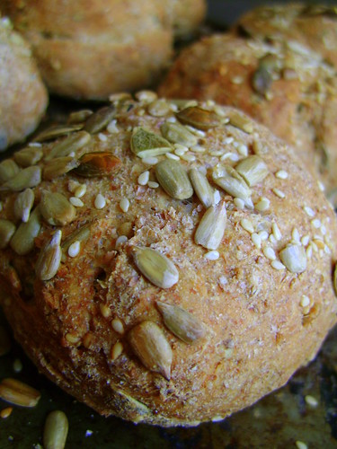 Three Seed Bread Rolls