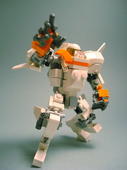 Mars Mission Variant/ Gorilla Hard Suit (polywen) Tags: lego mecha moc marsmission mechahubpool