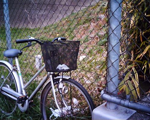【写真】VQ1005で撮影した自転車