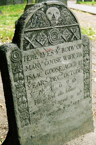 Mother Goose Gravestone
