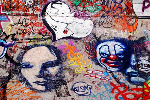 Extensive Graffiti