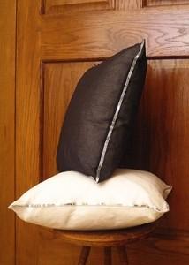 jamali sequin edge pillows