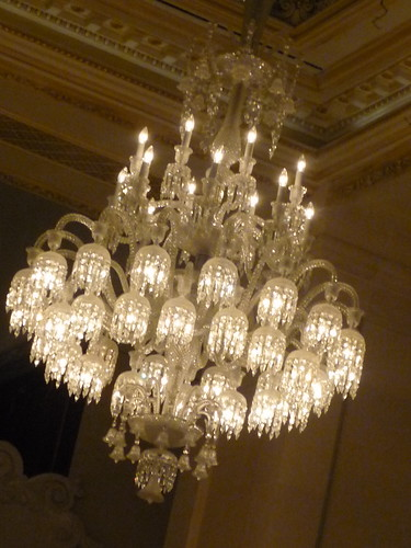 Chandelier, The Plaza, New York City