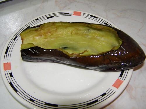 eggplant aubergine peep-toe mules