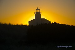 Lighthouse - The Sun sets on the Coquille River Lighthouse, Oregon (Darvin Atkeson) Tags: darvin atkeson liquidmoonlight liquidmoonlightcom oregon large rise drift wood river coquille lighthouse lighthouses grass sunset restore painted highway one beach pacific ocean sand surf ships water nikon d200 wallpaper wallpapersize desktop size californiaphotographer photographer outdoorphotography outdoor outdoors naturephotography scenic screensaver sun light house darvinatkeson oregonlighthouse oregonlighthouses californiaphotography outdoorphotographer nature color darv usa us america