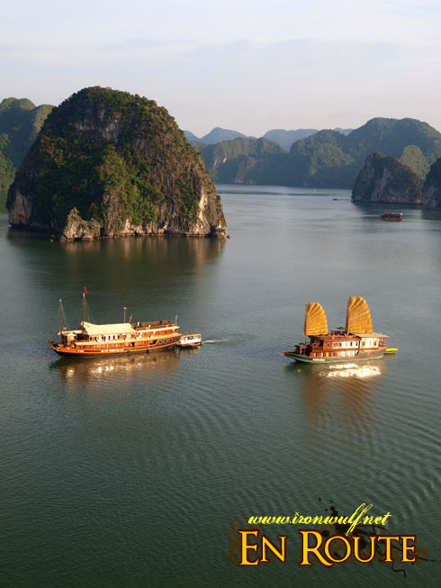 Ha Long Bay Golden Junks