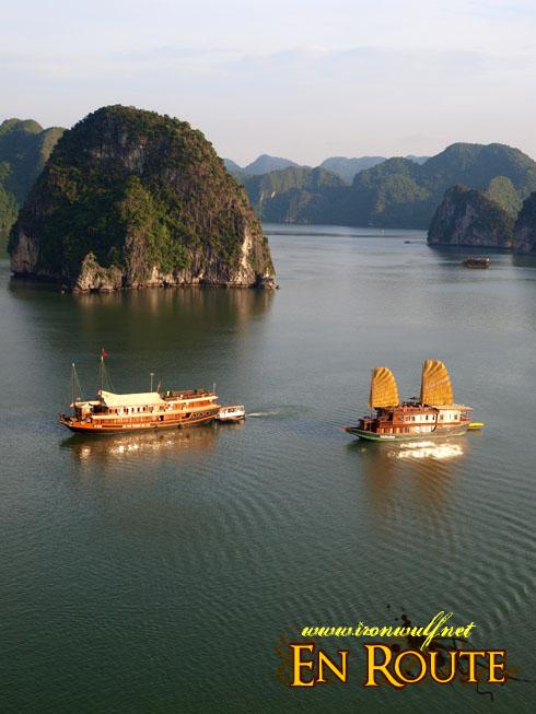 Ha Long Bay Golden Junks