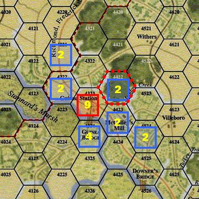 GCACW - Flank Bonus and Restricted ZOC - Fig 2