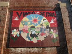 YWCA of St. Paul Mural by Unknown