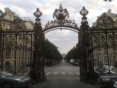 The gate of Parc Monceau