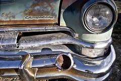 Chrysler (Curtis Gregory Perry) Tags: auto usa southwest abandoned car america utah us rust automobile united rusty mobil front bumper fender end vehicle motor headlight states chrysler grille automvil xe automobil     samochd  kotse  otomobil   hi   bifrei  automobili   gluaisten