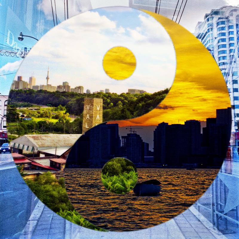 Yin Yang Cityscape