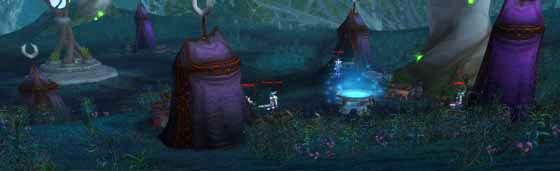 Sentinel Spy Camp Ghostlands