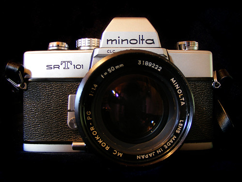 My New (25 Years Old!) Minolta SRT 101 with 50mm F1.4