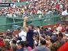 Fans singing 'O Bay O Bay O Bay O Bay!'