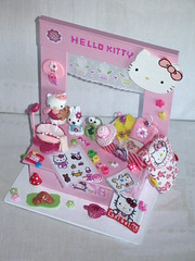 Hello Kitty (dmmalva) Tags: miniatures miniature model handmade hellokitty models swap kawaii gata handcrafted miniatura intercambio miniaturas artesano hechoamano