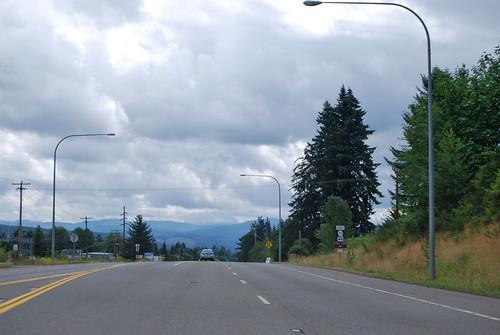 US 12 @ SR 122 west terminus