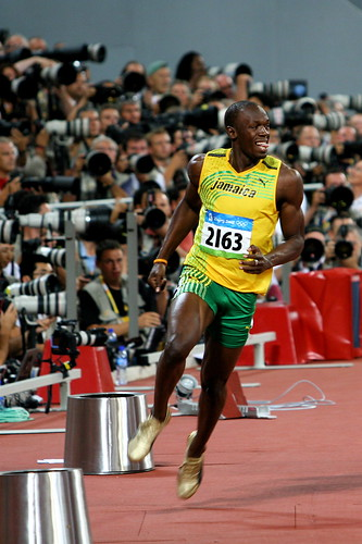 Beijing Olympics: Usain Bolt Breaks The World Record (Men's 100 Meters)<br />