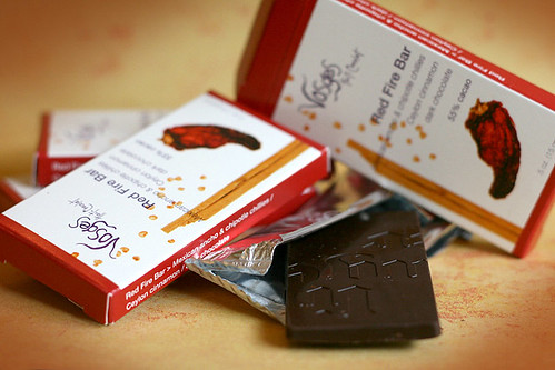 Red Fire Bar from Vosges Chocolates