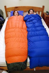 Ein Schlafsack