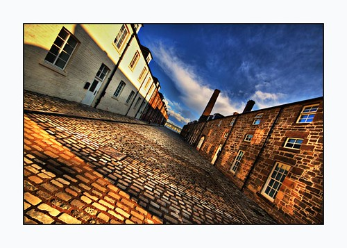 Cobble Expanse ~ City Quay ~ Dundee ~ Scotland