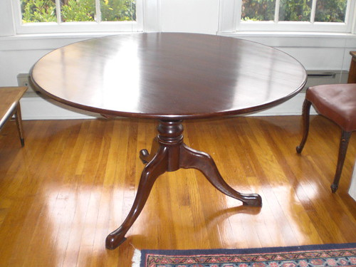 Antique folding dining table