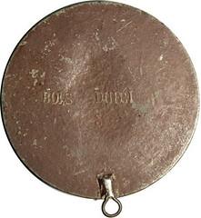 Bois Durci Garibaldi Medal Rev