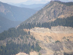 Chinook pass from Shriner lookout.