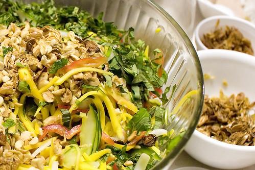 Aunt Cuc's Mango Salad