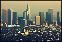 Smoggy LA (mancheimbeat / jcvera) Tags: california buildings la smog downtown southern ilovemypics