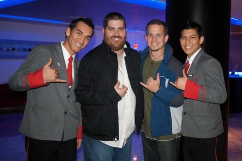 Cesar, Josh, Me, & Giancarlo