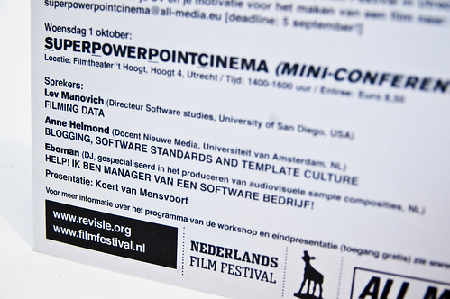 SuperPowerPointCinema Mini-conferentie