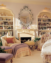 Mariah Carey's bedroom (lorryx3) Tags: mirror bedroom chair purple photos blanket pastels mariah carey mariahcarey celebrityhomes