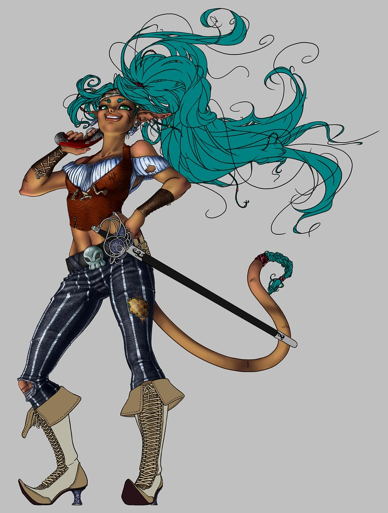 Pirate Vixen WIP