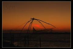 Munambam Pulimuttu (www.senyphotography.com) Tags: sunset en india beach kerala 1785 cochin munambam canoneos450d pulimuttu
