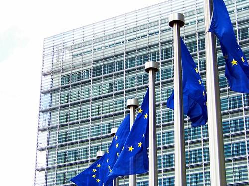 Banderas en la Comisión europea