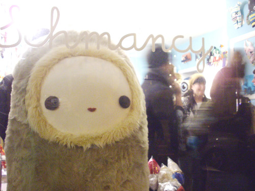Schmancy at the opening of Plush You.