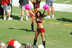 BucsVsPanthers-0209 (awinner) Tags: game football cheerleaders nfl cheerleader 2008 raymondjamesstadium tampaflorida tampabaybuccaneers carolinapanthers october2008 october122008