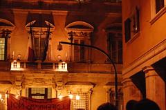 Indifference (Uomo Invisibile) Tags: roma universit protesta 23 2008 ottobre studenti sitin corteo indifferenza senato sapienza ondaanomala