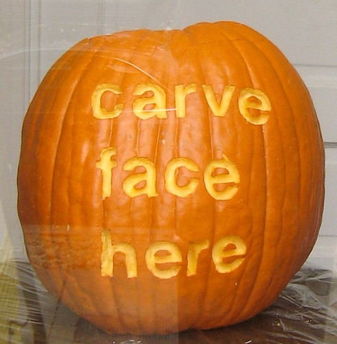 Typography Pumpkin by scormeny.
