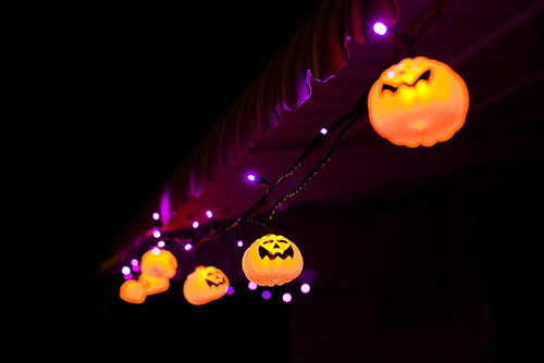Our Halloween Lights