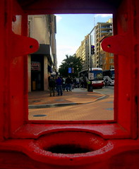 framed (NCinDC) Tags: washingtondc dcist callbox 10thstreet fstreet