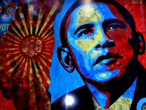 Obama Street Art from LoisinWonderland on Flick
