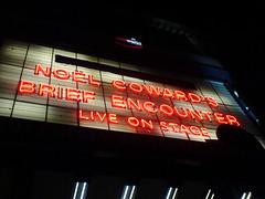 Brief Encounter (AnnabelB) Tags: birthday cinema london film movie play theatre haymarket brief westend encounter kneehigh liveonstage notthefilm