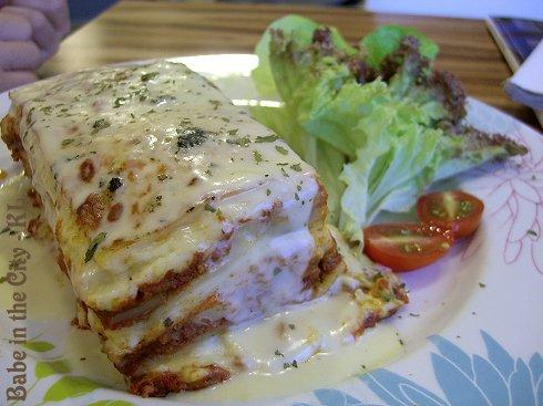 CM - beef lasagne (RM20.00)